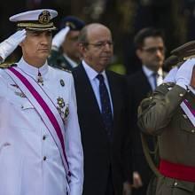 Král Felipe VI. se svým otcem