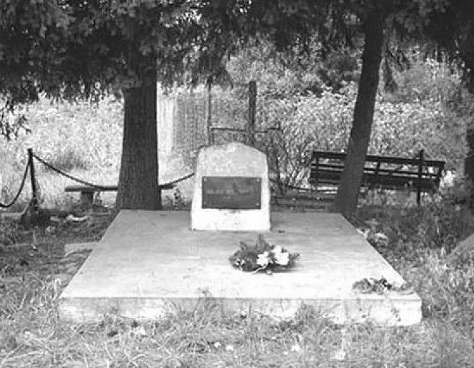 Památník obětem pracovního tábora u Adampolu