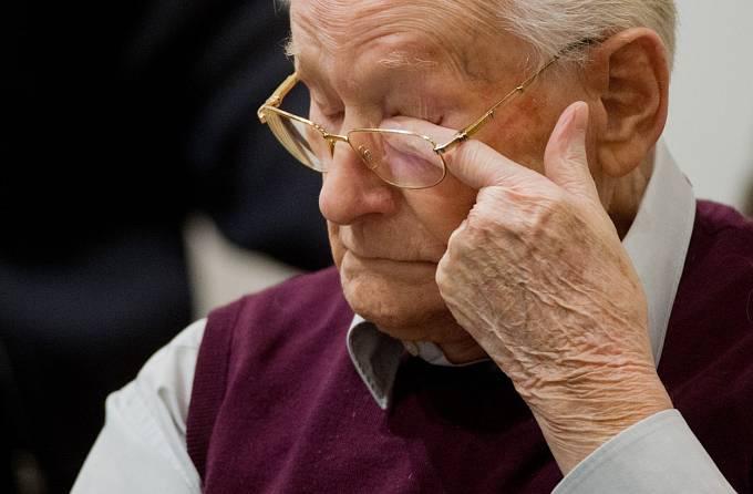 Oskar Gröning během soudního procesu