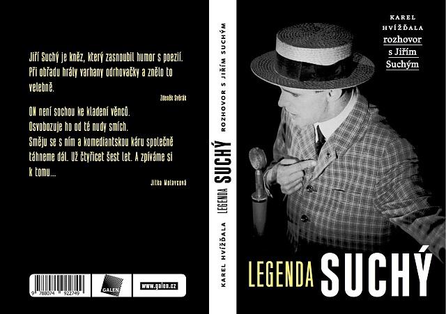 Kniha Legenda Jiří Suchý vyjde 7.listopadu 2016
