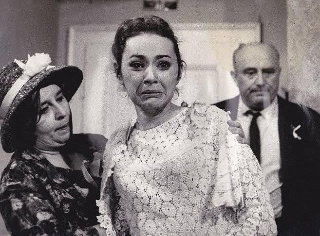 Stella Zázvorková, Alena Hesová a Jan Vostrčil