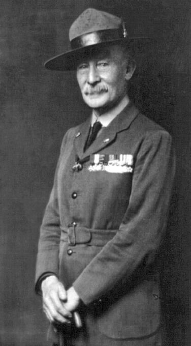 Robert Baden-Powell, zakladatel skautského hnutí
