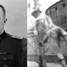 Velitel koncentračního tábora Mauthausen Franz Ziereis