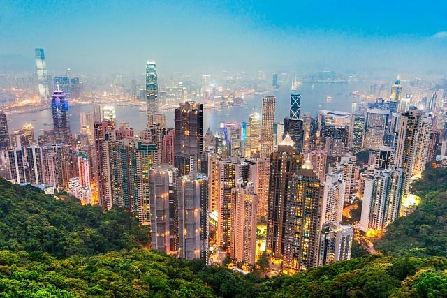 Panoráma Hongkongu