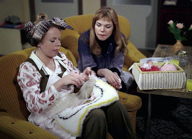 Iva Janžurová s Dagmar Havlovou.