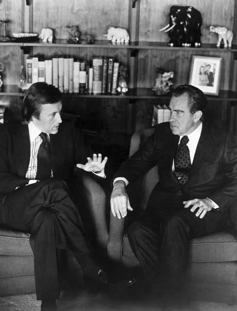 David Frost debatuje s Richardem Nixonem
