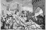Epidemie moru v roce 1348 zpustošila například italskou Florencii.