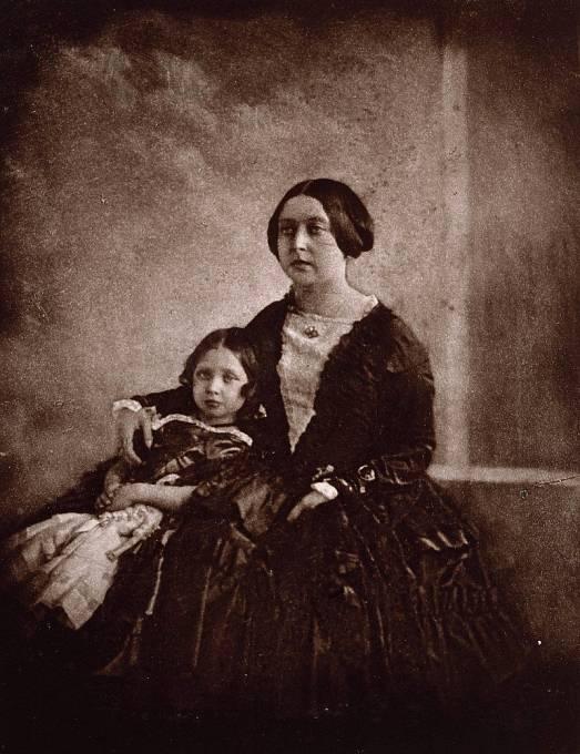 Královna Viktorie na první fotografii