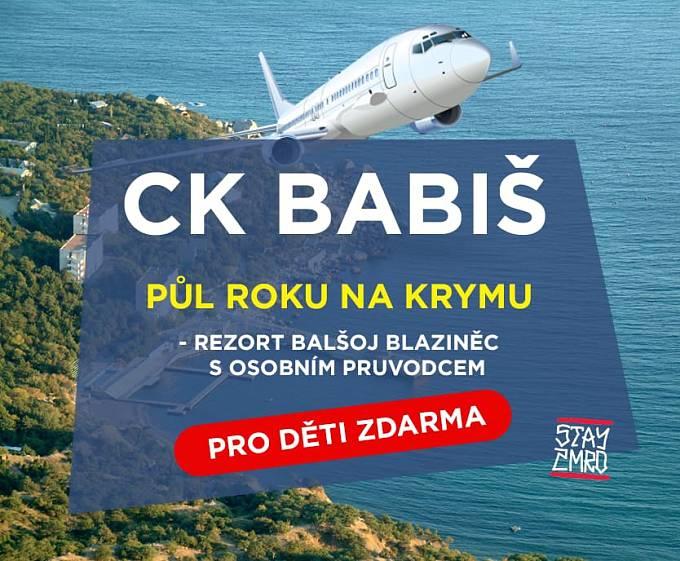 Levné zájezdy na Krym v režii CK Babiš, popřípadě CK Agrotour, vtipkují uživatelé sociálních sítí