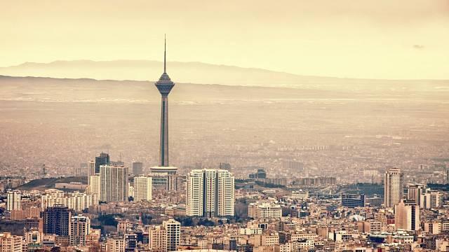 Íránské hlavní město Teherán.