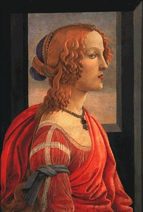 Sandro Botticelli zachytil renesanční ideál krásy.