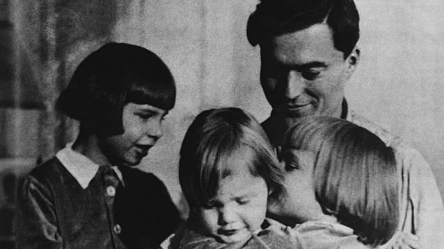 Claus von Stauffenberg byl milujícím otcem.