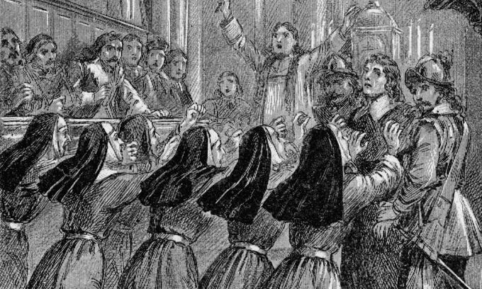 Jeptišky na konci 15. století vydávaly podivné zvířecí zvuky