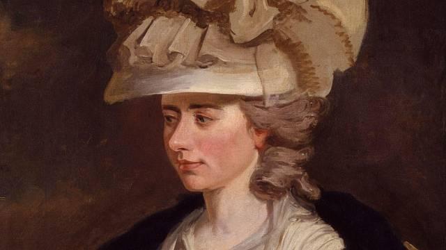 Anglická spisovatelka Frances Burneyová