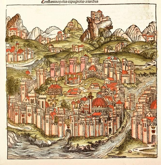 Konstantinopol před morovou ranou