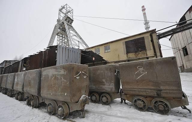 uranový důl Rožná