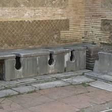 Starověké latríny v Římě