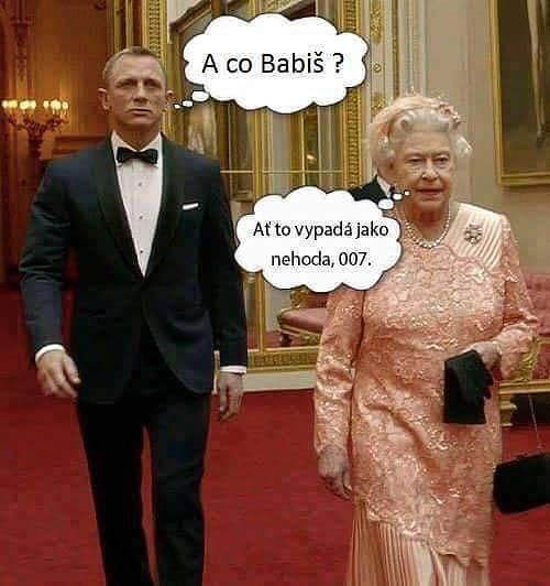 Nové užití našel i prastarý mem s britskou královnou