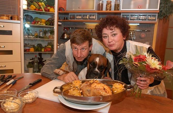 Jana Boušková s manželem Václavem Vydrou