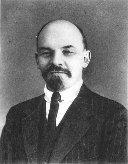 V.I. Lenin v roce 1916