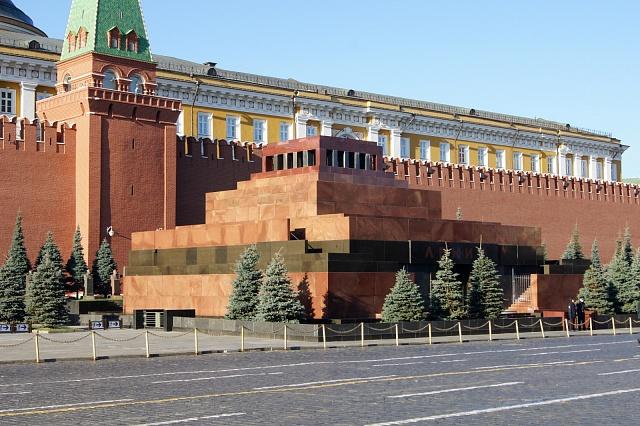 Leninovo mauzoleum vMoskvě