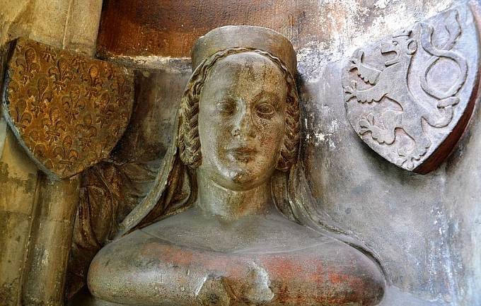 První manželka Karla IV. Blanka z Valois