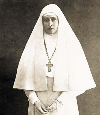 Alžběta vřeholním šatě