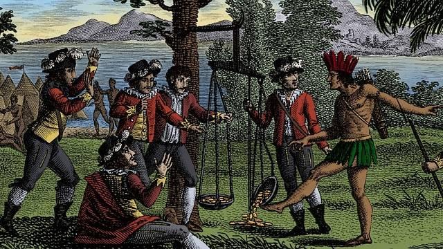 Kolonizátorům šlo především o zlato.