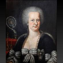 Portrét Marie Alžběty jako abatyše
