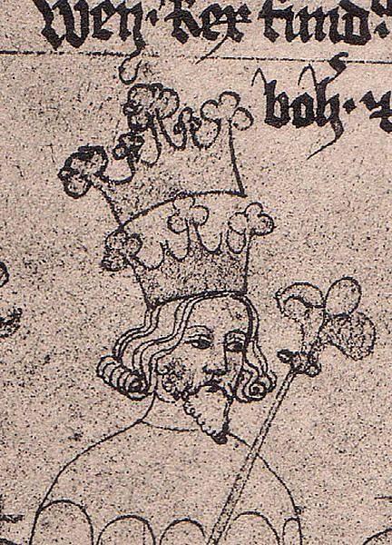 Václav II. , syn Přemysla Otakara II.
