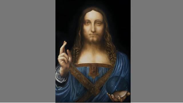 Obraz Salvator Mundi od Leonarda da Vinci zdobí stěnu jachty jeho majitele