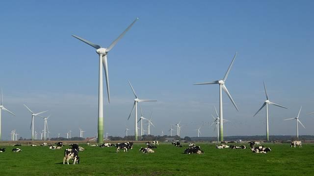 Jeden z mnoha větrných parků, jež vyrostly na území Německa. Kolik z nich koupí ČEZ?