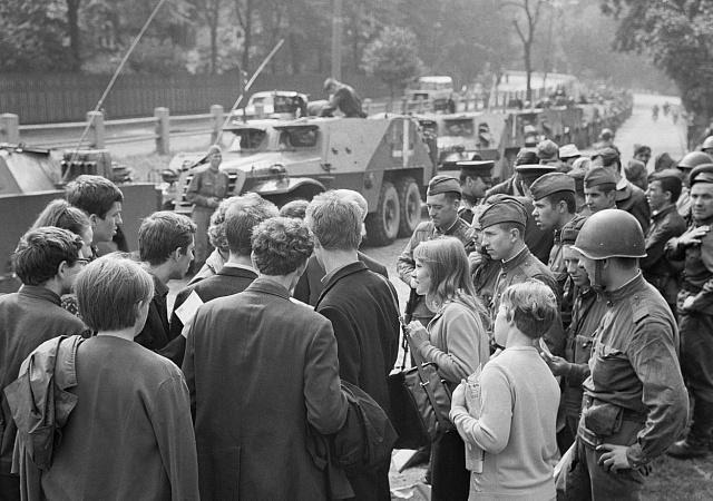 Sovětská okupace Československa 1968