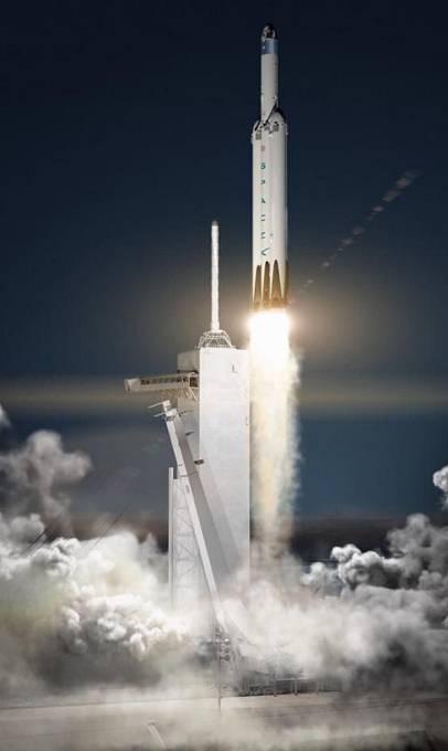 Falcon Heavy se má stát nejvýkonnější raketou od roku 1972, kdy se přestala používat generace raket Saturn V.