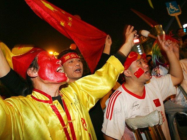 Čínští fanoušci