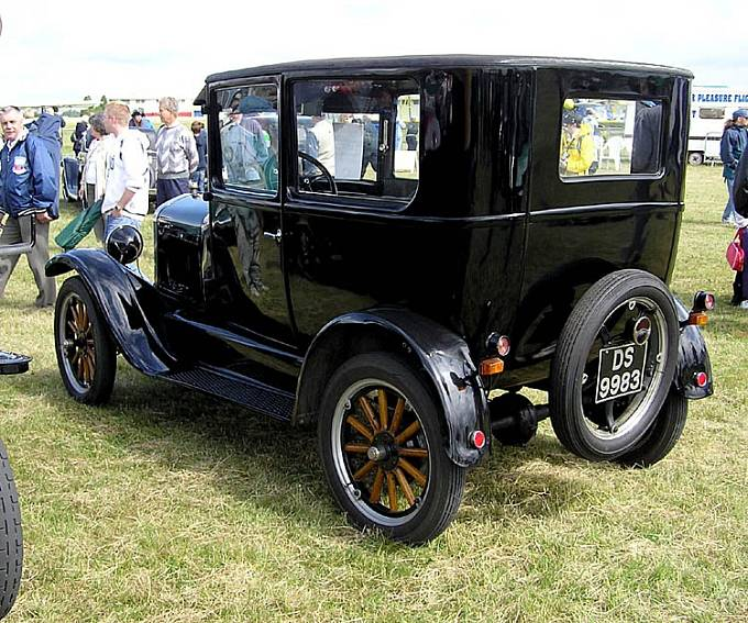 Ford model T Tudor Sedan z roku 1925