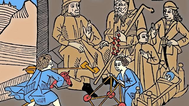 Středověké hračky