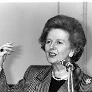 Bývalá britská premiérka Margaret Thatcherová