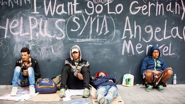 Uprchlíci si v roce 2015 oblíbili Německo.