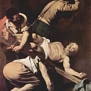 Ukřižován nebyl pouze Ježíš Kristus, ale i další ranní křesťané. Na obraze od Caravaggia je zachyceno ukřižování svatého Petra.
