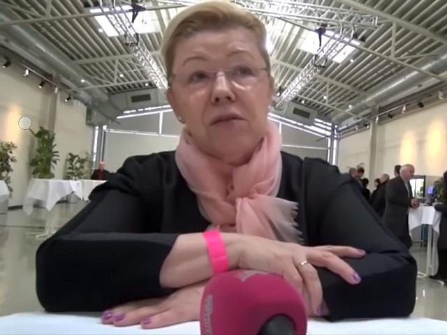 Senátorka Jelena Mizulinová