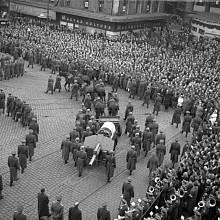 Pohřeb Klementa Gottwalda