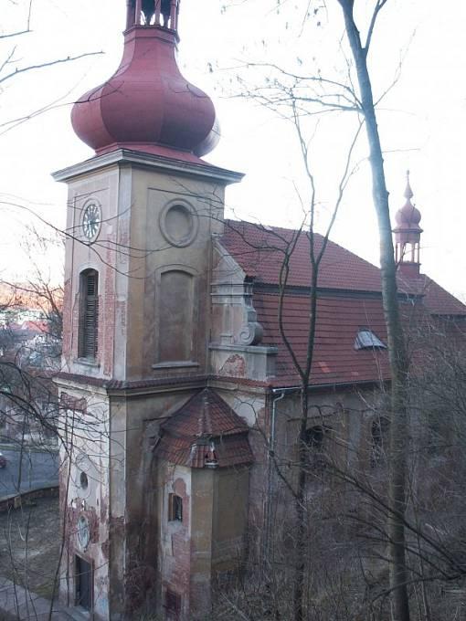 Kostel Narození Panny Marie v Kryrech na Lounsku