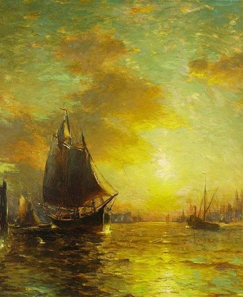 Newyorský přístav v 19. století