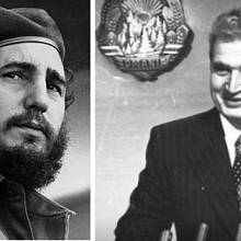 Fidel Castro a Nicolae Ceaușescu