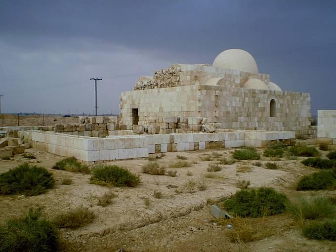 Bývalý lovecký zámeček a lázně v jednom – Hammám as-Sarah