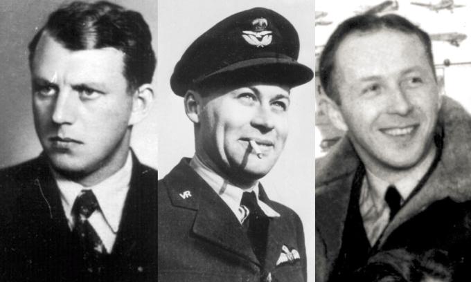 Arnošt Valenta, Ivo Tonder a Bedřich Dvořák