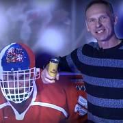 Dominik Hašek v hlavní roli svých reklam