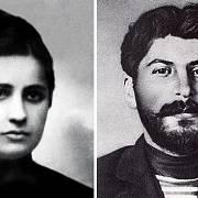 Stalin se svou první manželkou Jekatěrinou