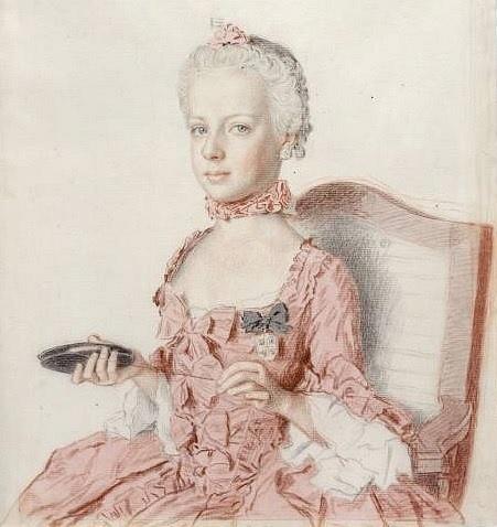 Marie Antoinetta vr. 1762